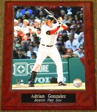 Adrian Gonzalez Boston Red Sox 10.5x13 Plaque