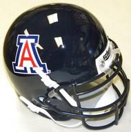 Arizona Wildcats BLUE Schutt NCAA College Football Authentic Team Mini Helmet