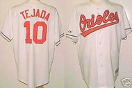 Miguel Tejada Baltimore Orioles Majestic Home Custom XL Jersey