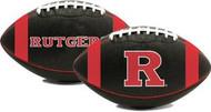 Rutgers Scarlett Knights Fotoball Sports NCAA PT6 Full Size Black Football