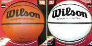 Wilson Official White Panel Full Size Basketball Model B0590R