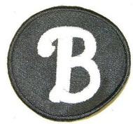 "Whip Buck & J Mahlon Jim Buck Jr. ""B"" Philadelphia Phillies 2011 Memorial Jersey Patch"