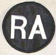 "Richie Ashburn ""RA"" Alternate Philadelphia Phillies Memorial Jersey Patch"