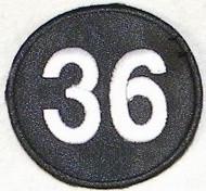 Robin Roberts #36 Philadelphia Phillies 2010 Memorial Jersey Patch