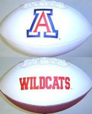 Arizona Wildcats Rawlings Jarden Sports Signature NCAA Full Size Fotoball Football - DEFLATED without Box/Pen