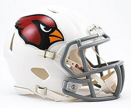 Arizona Cardinals NFL Team Logo Riddell 3-Pack Revolution SPEED Mini Helmet Set