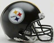 Pittsburgh Steelers Riddell NFL Replica 6-Pack Mini Helmet Set