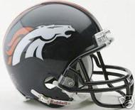 Denver Broncos Riddell NFL Replica 6-Pack Mini Helmet Set