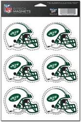 New York Jets NFL Team Logo Wincraft Magnet 6-Pack