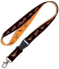 Baltimore Orioles Wincraft Sports MLB Team Logo Detachable Buckle 2-Tone Reversible Breakaway Clip Lanyard
