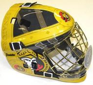 Ottawa Senators Franklin NHL Full Size Street Extreme Youth Goalie Mask
