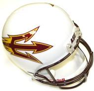 Arizona State Sun Devils WHITE Riddell NCAA Collegiate Deluxe Replica Full Size Helmet