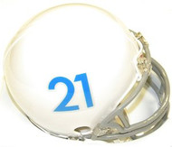 Kansas Jayhawks 1961 Tribute Riddell NCAA Replica Mini Helmet 2011-2012