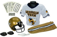 Georgia Tech Yellow Jackets Franklin Deluxe Youth / Kids Football Uniform Set - Size Medium