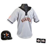 San Francisco Giants Franklin Youth MLB Kids Team Helmet, Jersey & Wristband Set