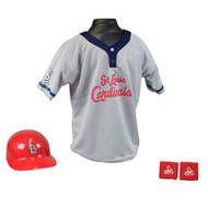 St. Louis Cardinals Franklin Youth MLB Kids Team Helmet, Jersey & Wristband Set