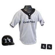 Chicago White Sox Franklin Youth MLB Kids Team Helmet, Jersey & Wristband Set