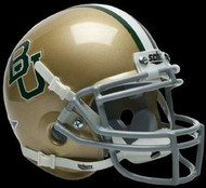 Baylor Bears Gold Schutt NCAA College Football Authentic Team Mini Helmet