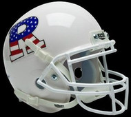 Rutgers Scarlett Knights Alternate White & Flag Schutt NCAA College Football Authentic Team Mini Helmet