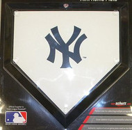 "New York Yankees Schutt MLB Baseball Team Logo 10""x10"" Mini Home Plate"