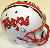 Maryland Terrapins White Schutt NCAA College Football Team Full Size Replica XP Helmet