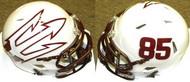 Arizona State Sun Devils #85 White Big Fork Riddell NCAA Revolution Speed Mini Helmet