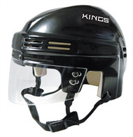 Los Angeles Kings NHL Black Player Mini Hockey Helmet