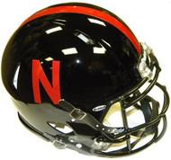 Nebraska Cornhuskers BLACK Riddell NCAA Authentic Revolution SPEED Pro Line Full Size Helmet