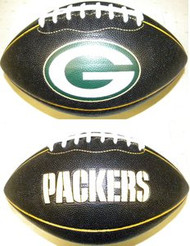 Green Bay Packers Fotoball Sports NFL PT6 Full Size Black Football