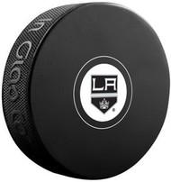 Los Angeles Kings NHL Team Logo Autograph Model Hockey Puck - Current Logo
