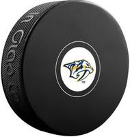 Nashville Predators NHL Team Logo Autograph Model Hockey Puck - Current Logo