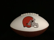 Cleveland Browns Rawlings Jarden Sports Signature NFL Full Size Fotoball Football Current Version (NEW 2015) - BLOWN UP with BOX & PEN