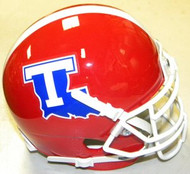 Louisiana Tech Bulldogs Schutt NCAA College Football Authentic Team XP Style Mini Helmet