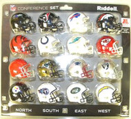 AFC Conference 16-Pack NFL Revolution Pocket Pro Set with Chargers, Bengals, Chiefs, Patriots, Steelers, Bills, Colts, Texans, Broncos, Jaguars, Raiders, Titans, Browns, Jets, Ravens & Dolphins