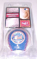 New York Mets Rawlings Embroidered MLB Baseball