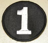 "Richie Ashburn ""1"" Alternate Philadelphia Phillies Memorial Jersey Patch"