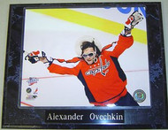 Alexander Ovechkin Washington Capitals NHL 10.5x13 Plaque