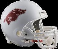 Arkansas Razorbacks Alternate White NCAA Collegiate Deluxe Replica Helmet