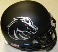 Boise State Broncos Blackout Schutt NCAA College Football Authentic Team Mini Helmet