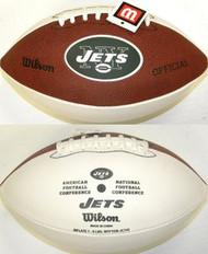 New York Jets Official Wilson NFL Full Size Signature Model Football