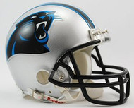 Carolina Panthers NFL Team Logo Riddell 3-Pack Mini Helmet Set