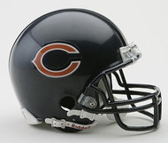 Chicago Bears NFL Team Logo Riddell 3-Pack Mini Helmet Set