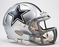 Dallas Cowboys NFL Team Logo Riddell 6-Pack Revolution SPEED Mini Helmet Set