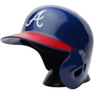 "Atlanta Braves Rawlings ""On Field"" Mini replica batting helmet"