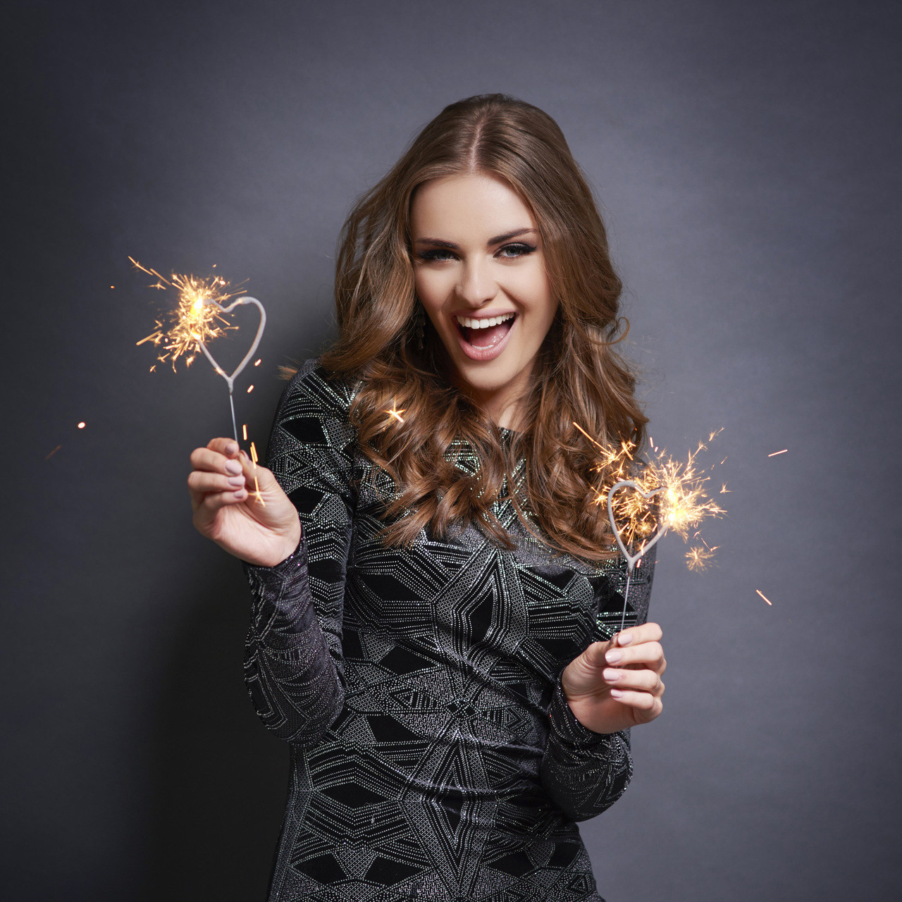 Heart Sparklers - 12