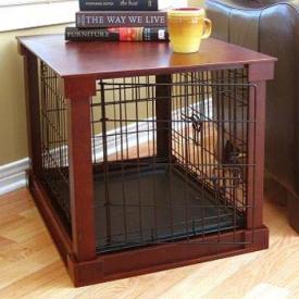 Wood Dog Crates & Gates