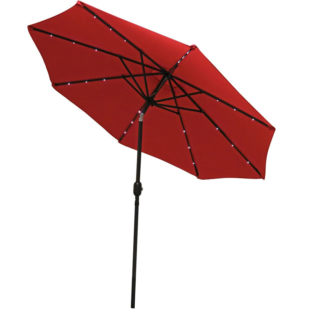 Are You Looking To Keep Cool On The Patio Or Deck While Still Enjoying The  Perfect Outdoor Weather? Take A Look At The Steel 5u0027 Beach Umbrella ...