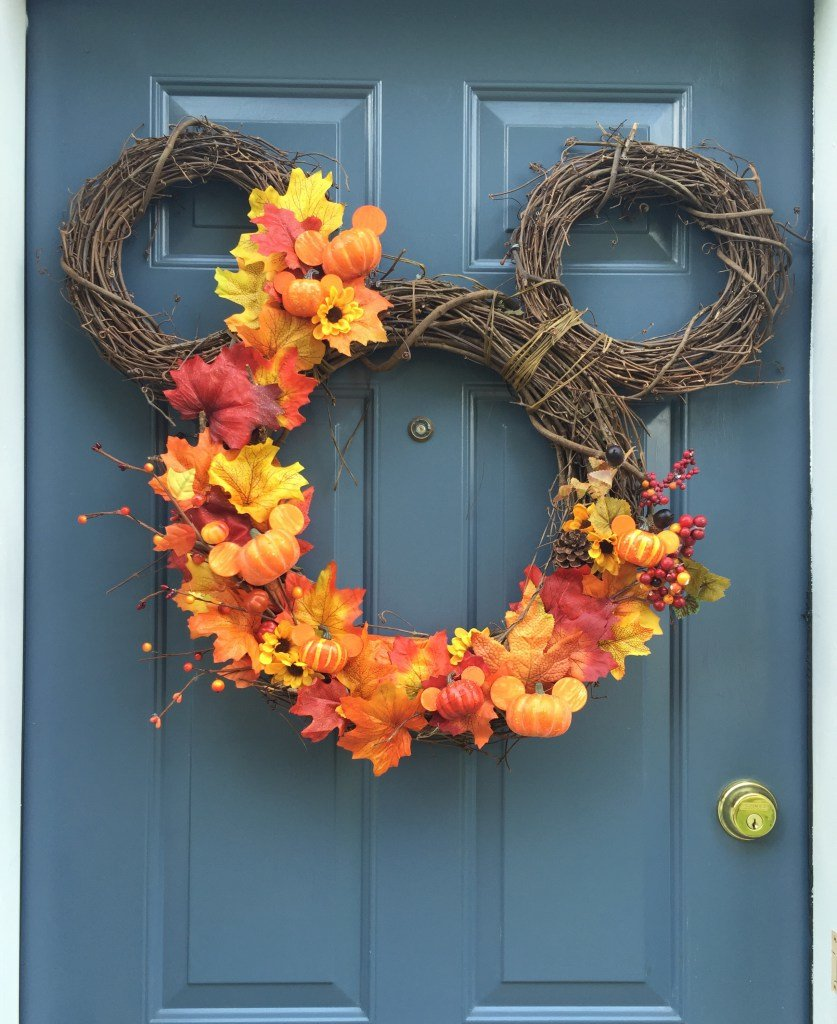 Diy Fall Door Decorations: 8 DIY Fall Wreaths Paired With Home Decor