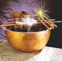 Gentle Flow Tabletop Fountain #1004