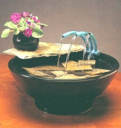 Nature Bowl Tabletop Fountain #103